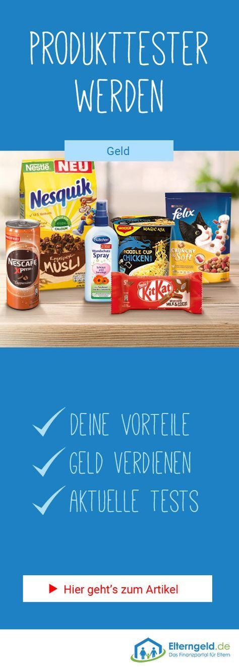Heimarbeit Produkttester