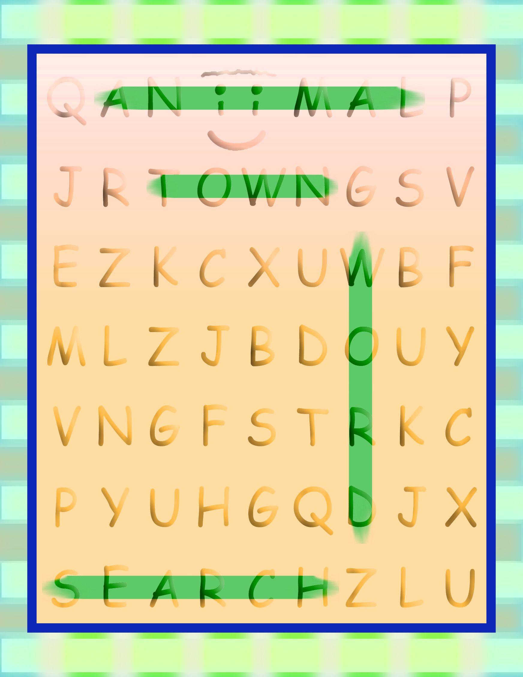 Aniimal Town Word Search (Aniimal Town Learning Series