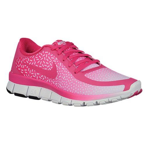 Nike Free 50 V4 Ns Pt Sz 5 Womens Running Shoes Pink New In Box *