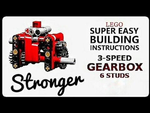 Instructions 3 Speed Gearbox Small Lego Technic Mastery