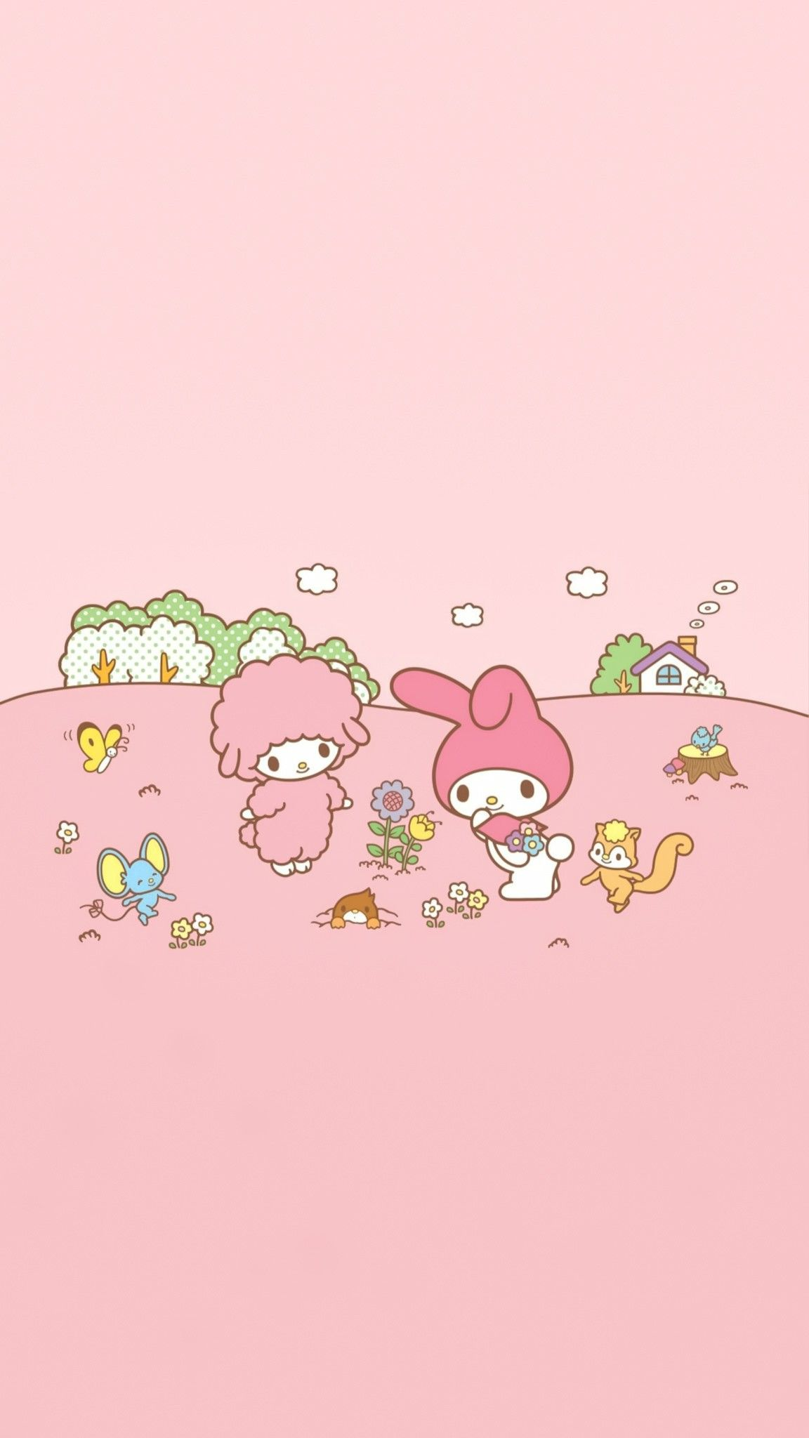 My Sweet Piano My Melody My Melody Wallpaper Sanrio Wallpaper Wallpaper Iphone Quotes Backgrounds