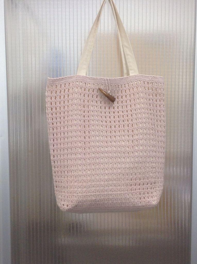 4d3c56c371f1 とりあえず、留め具 俵, バーラップ, かぎ針編み, バッグ・かばん