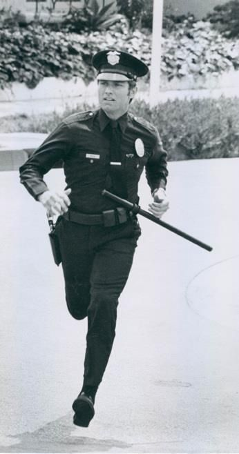 Jim Action Shot Police Tv Shows Adam 12 Los Angeles Police Department