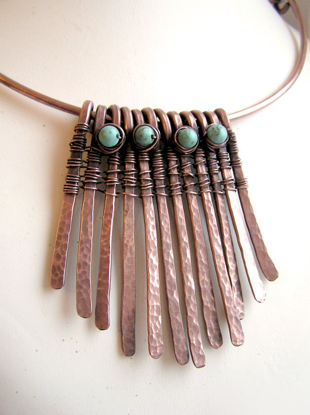 Photo of New Copper Wire Jewellery Necklaces