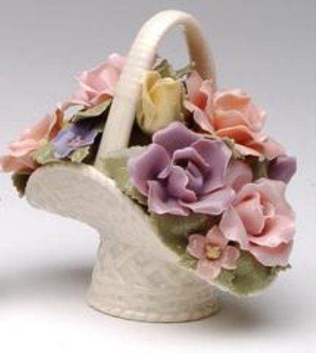 Cosmos 96364 Fine Porcelain Rose Basket Figurine, 3-3/4-Inch Cosmos http://www.amazon.com/dp/B001RQY1YM/ref=cm_sw_r_pi_dp_TnEVvb16RKGJF