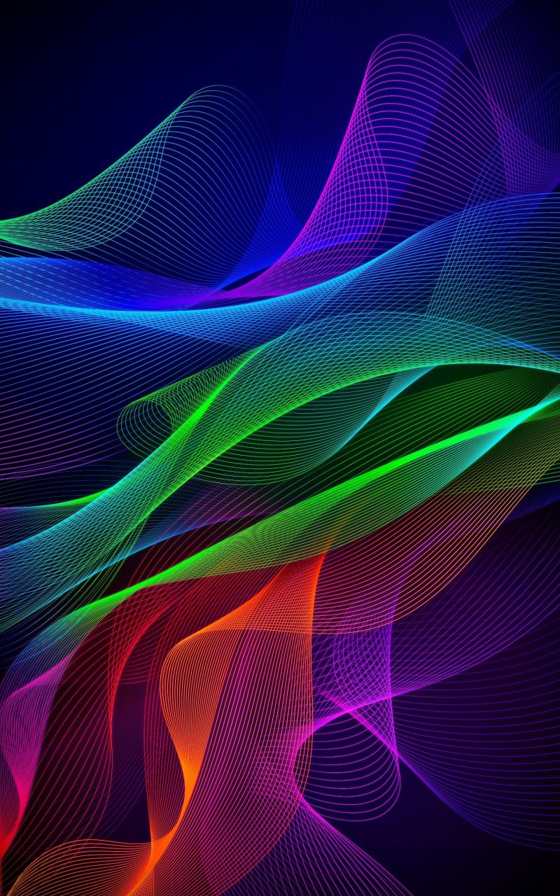 800x1280 Colorful Lines Abstract Razer Phone Stock Wallpaper Stock Wallpaper 4k Gaming Wallpaper Gaming Wallpapers