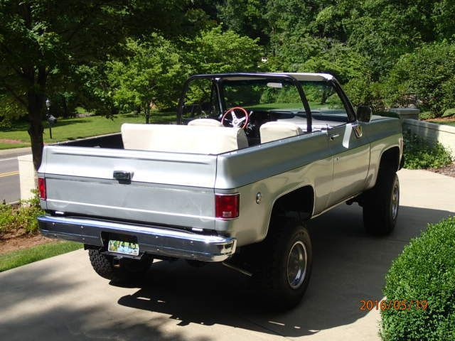 1974 K5 Blazer for sale in Birmingham, Alabama, United