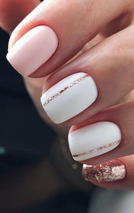 The Definitive Solution For Short Acrylic Nails You Can Find Out About Today 3 in 2020 | Short acrylic nails, Minimalist nails, Neutral nails
