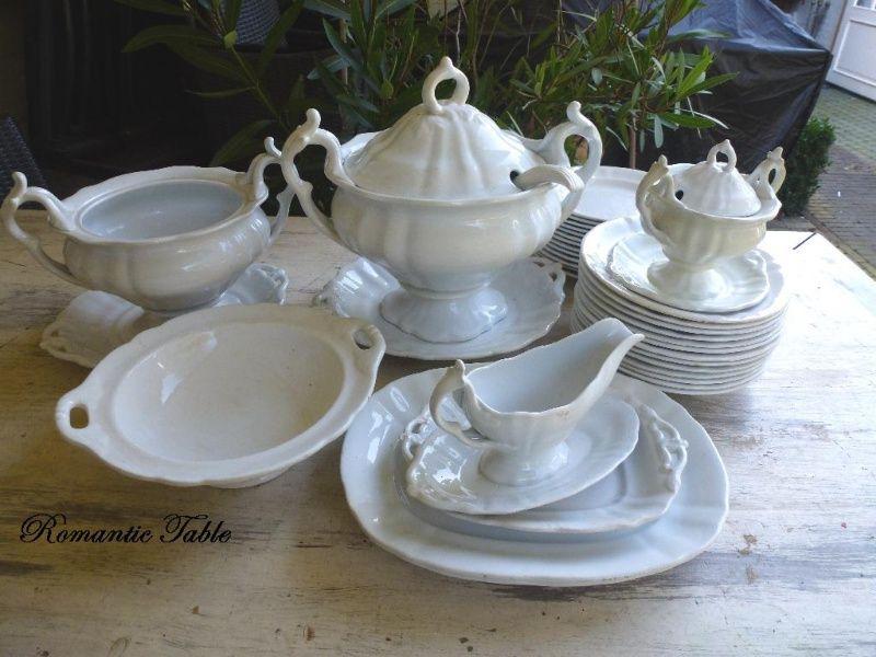 Antiek eetservies Welington   Societe Ceramique - P Regout  VERKOCHT