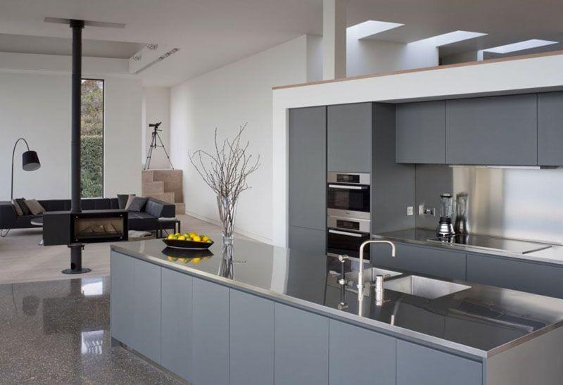 Kitchen Design Idea Install A Stainless Steel Backsplash For A Sleek Look Kitchen Backsplash Inspiration Modern