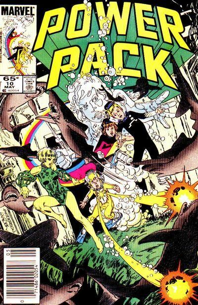 Power Pack # 10 by Brent Anderson & Bob Wiacek