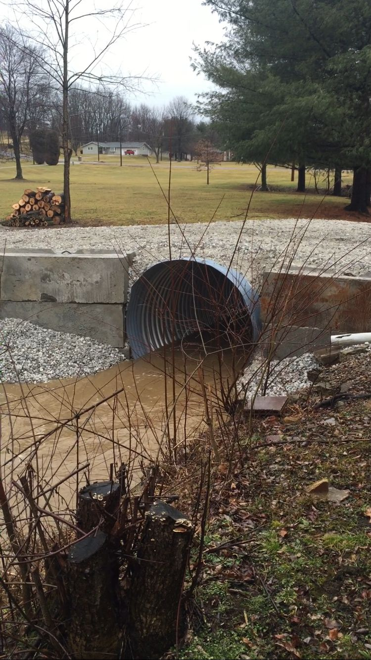 Culvert In Action Feb 2016 Greenport Land 2019 Pinterest Electrical Rough Wiring Of Earthship Tire Walls Pictures To Pin On