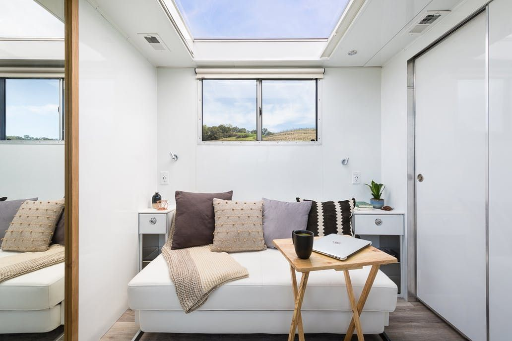 Tiny House Solar Luxury Trailer Photos Apartment Therapy