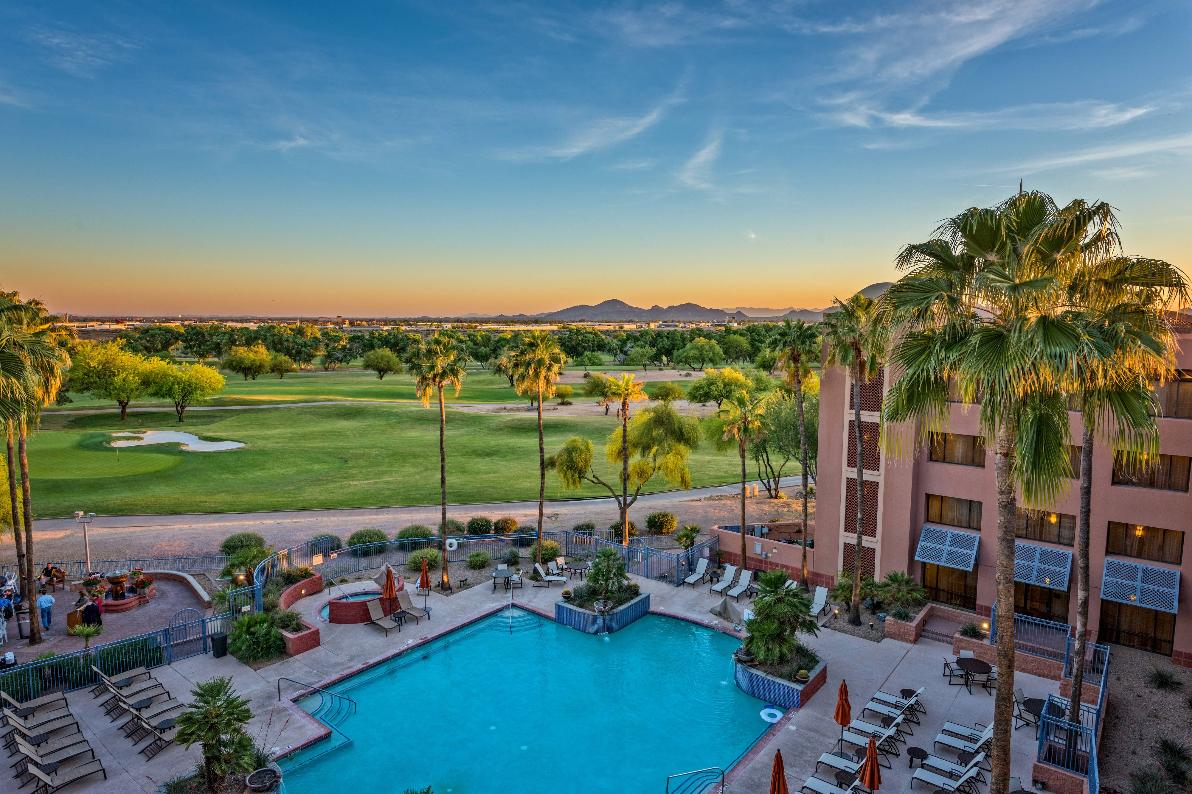 Scottsdale Marriott At Mcdowell Mountains Outdoor Pool View