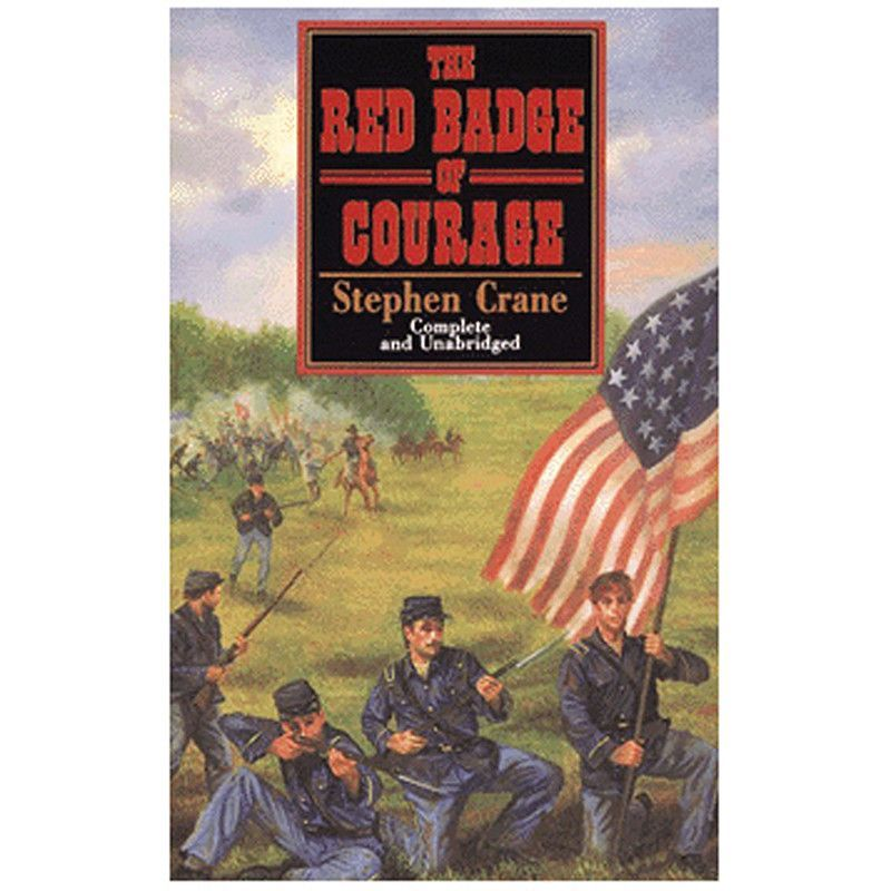 The Red Badge Of Courage Stephen Crane Badge Books