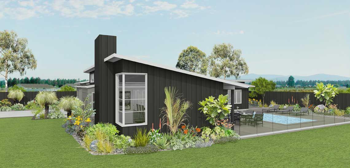 rakaia 3 bedroom house design landmark homes builders nz - House Plans Landmark Homes New Zealand
