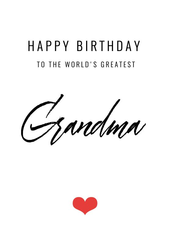World S Greatest Grandma Free Birthday Card Greetings Island In 2021