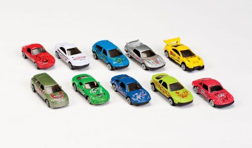 Save $1.60 on Car Set - Set Of 10 by Miles Kimball; only $7.99