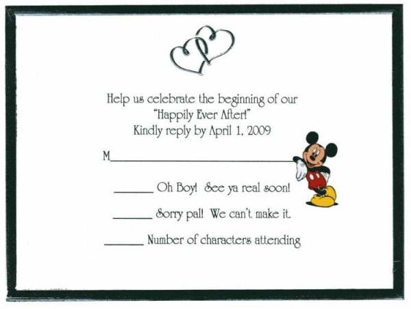 Humor Wedding Invitations: The DIS Discussion Forums