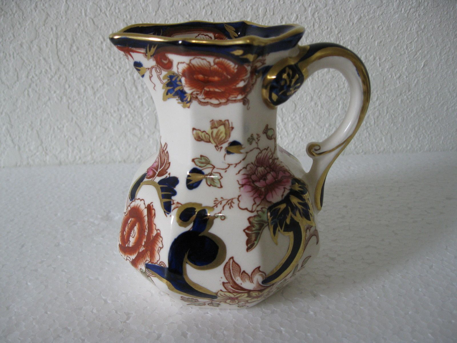 Antique Masons Ironstone China Pitcher Mandalay Pattern Exc Condition Price Cut Ebay Sort It