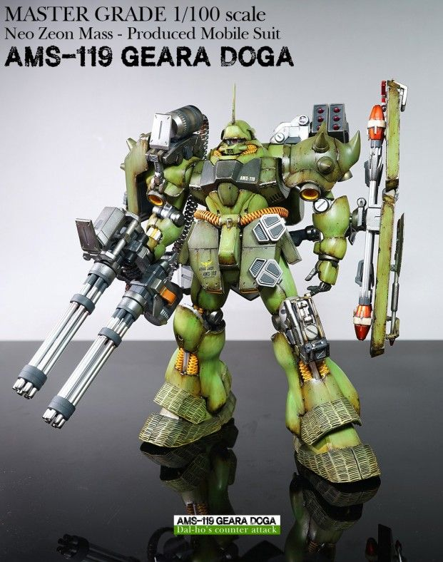 GUNDAM GUY MG 1/100 AMS119 Geara Doga Customized Build