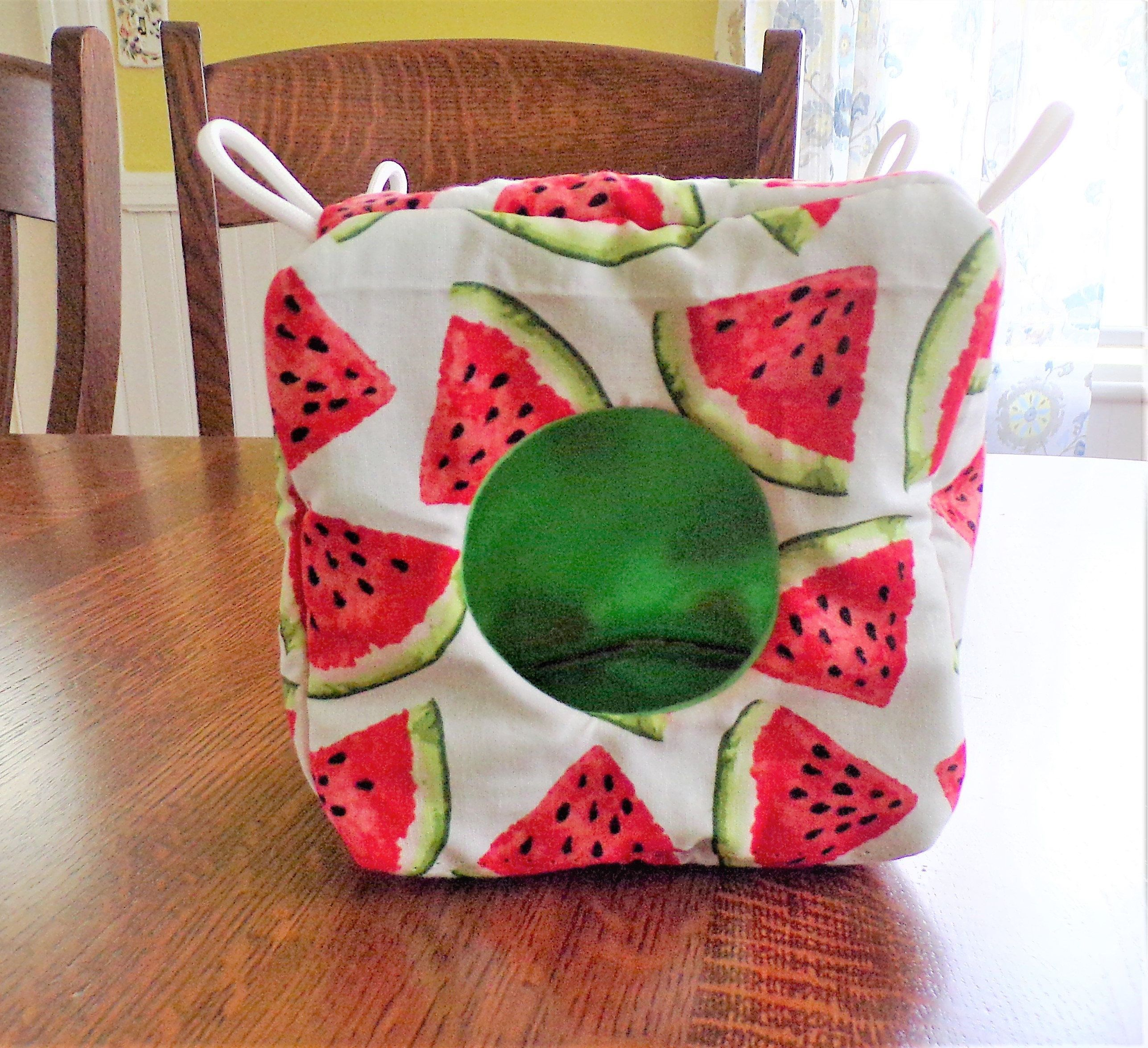 Watermelon Cube, Cage Cube, Cube, Watermelon, Cage Accessory, Cage Home,