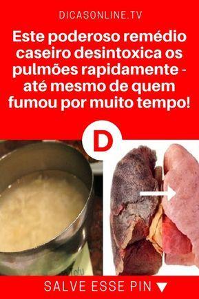 Limpar Pulmoes Este Poderoso Remedio Caseiro Desintoxica Os