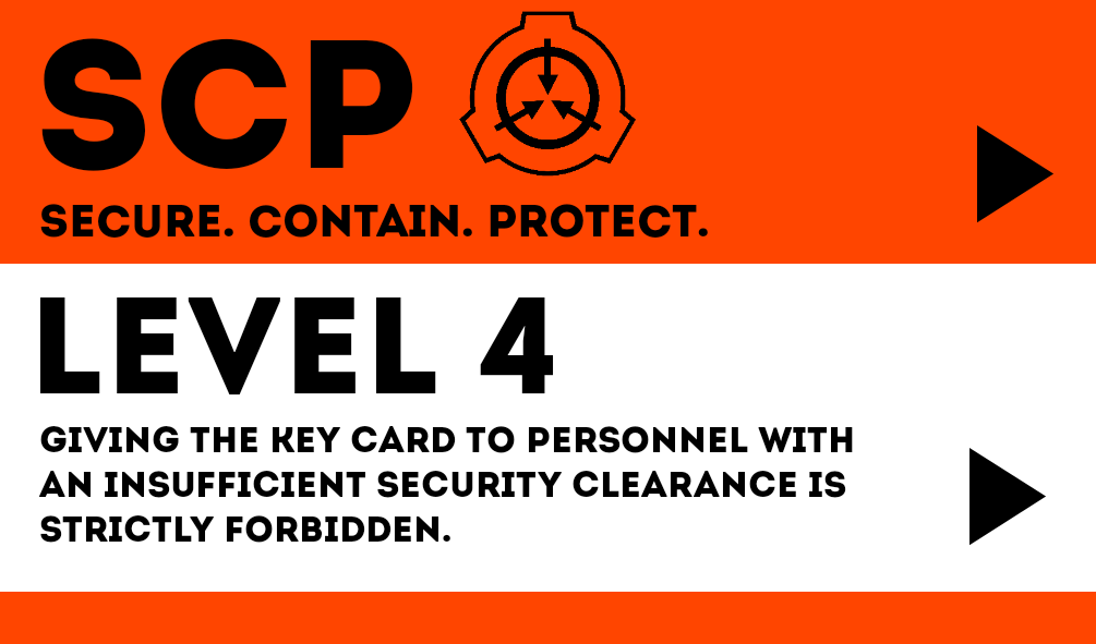Cards Level 4 Scp Scp Cards Character Outfits