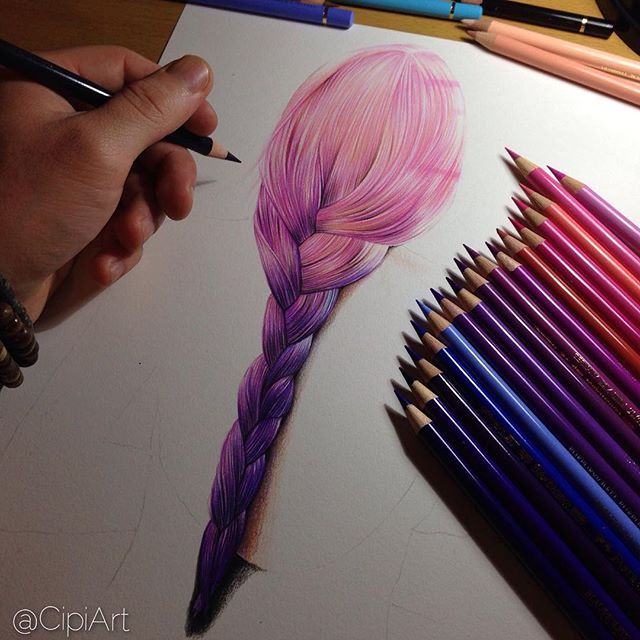 Wip Colored Pencil Drawing By Cipiart On Strathmore 400 Series