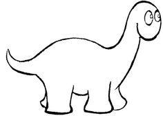 Coloriage Dinosaure Noel.Coloriage Pop Le Dinosaure Pop Dinosaure Activites De