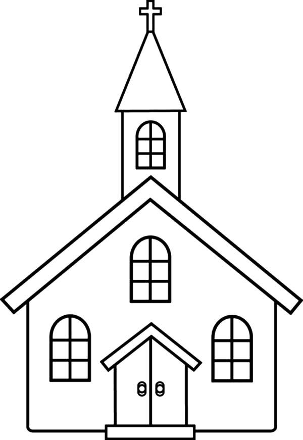 Church Church Coloring Pages For Kids Church Images Coloring