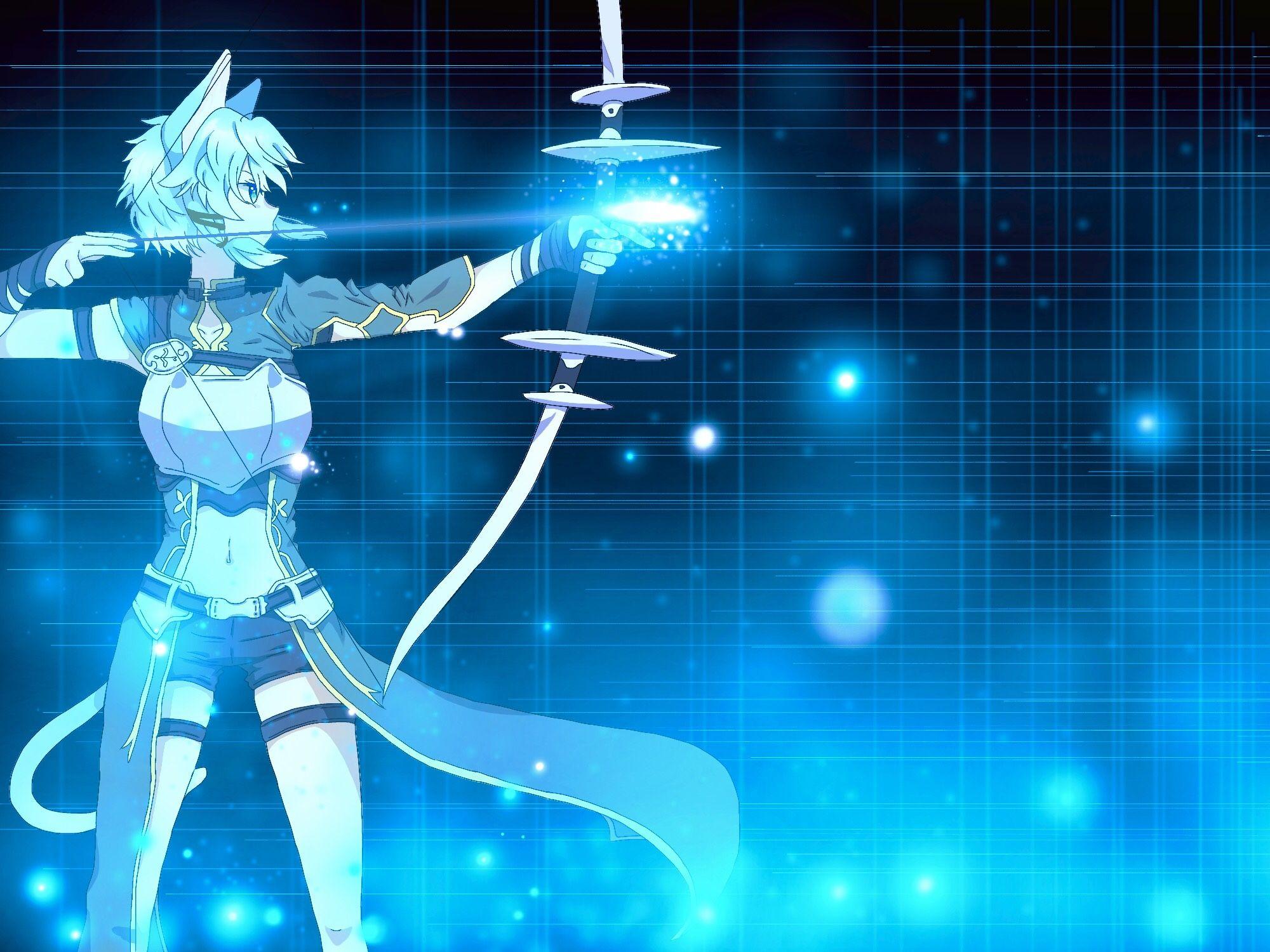 Anime Sword Art Online Ii Sinon Wallpaper