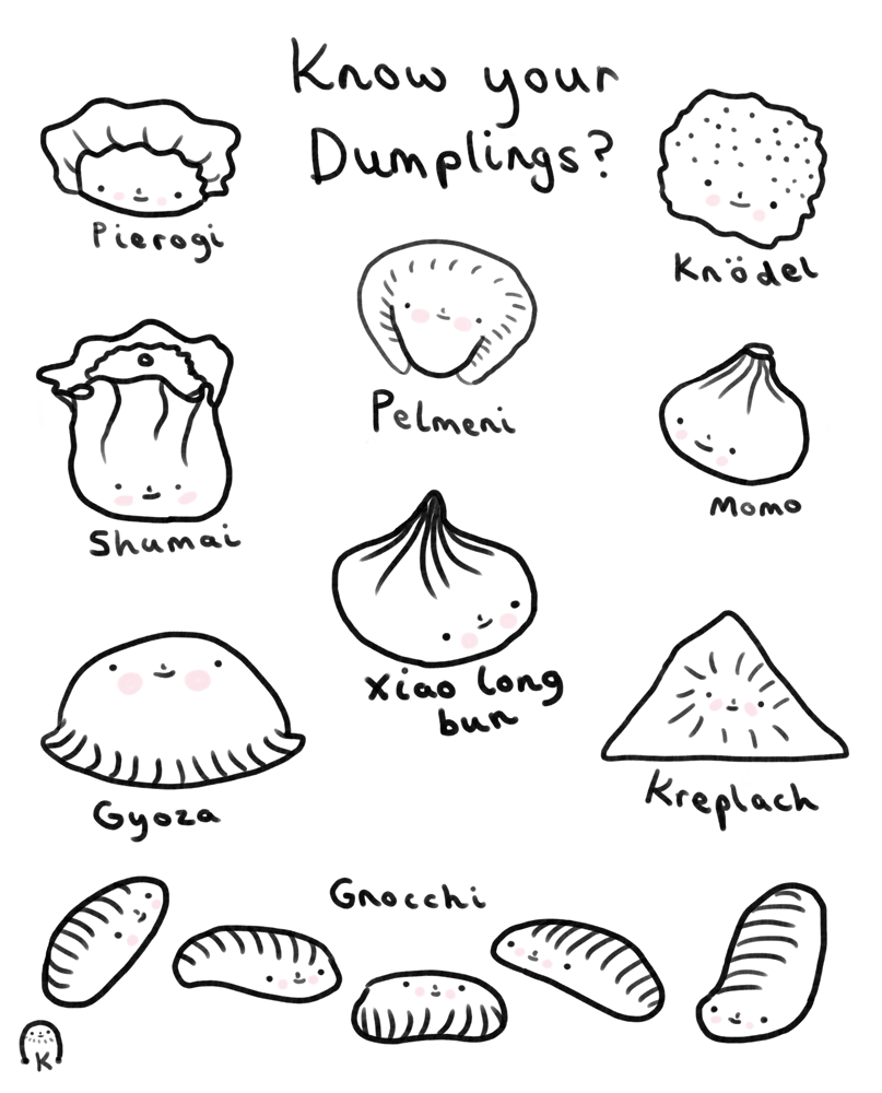 Dumplings - Kerris Ganeson