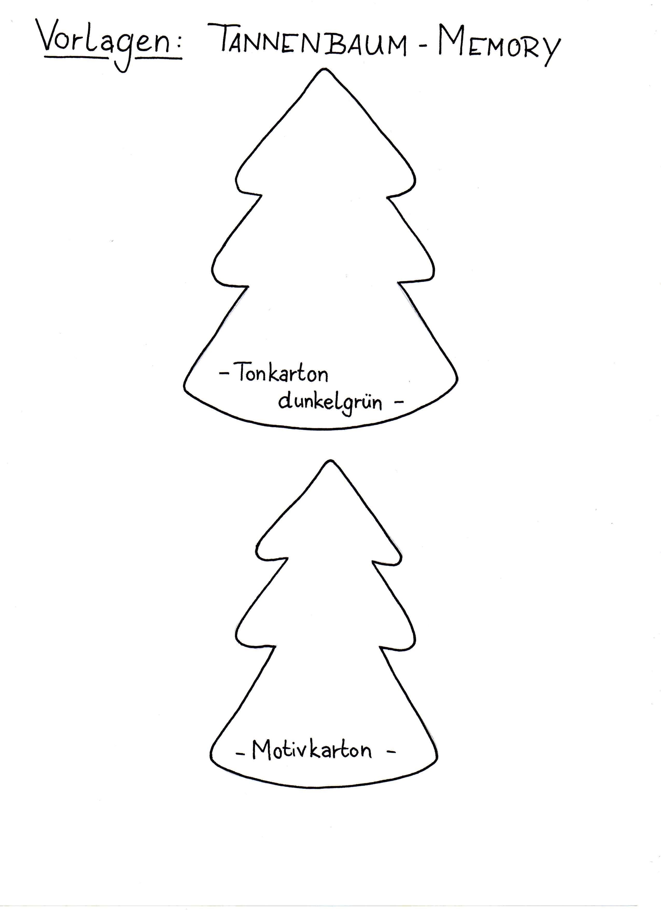 Frisch Schablone Tannenbaum Färbung Malvorlagen