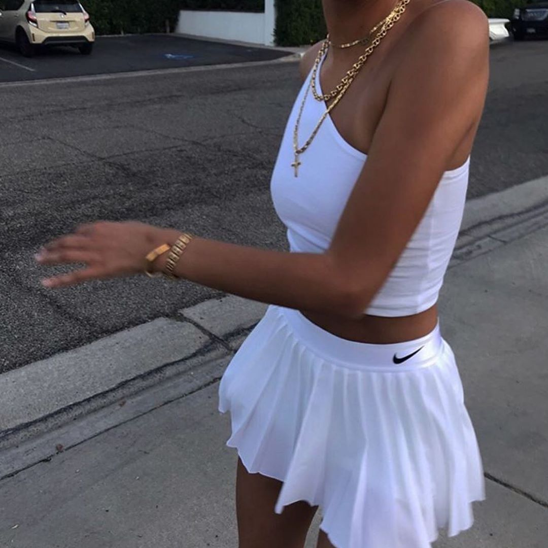 New Collection Click On Our Website In 2020 Tennis Skirt Outfit Fashion Inspo Outfits Fashion