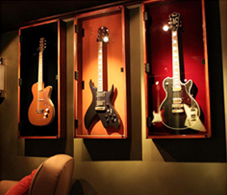 Hang Guitar On Wall guitar wall art - google search | mary's redecorating project