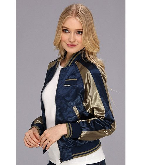 Satin Baseball Jacket From Members Only Sporty Style Zappos