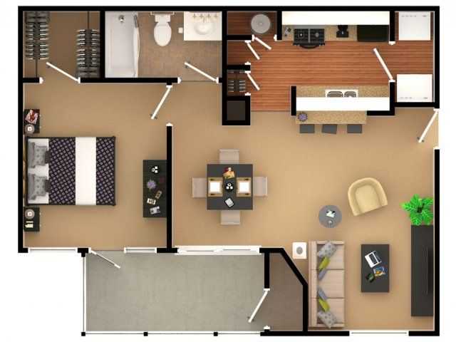 1 bedroom, 1 bath apartment in Florence, KY The Paddock Club