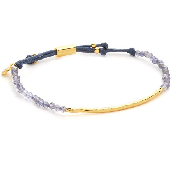 Gorjana Power Gemstone Bracelet for Courage