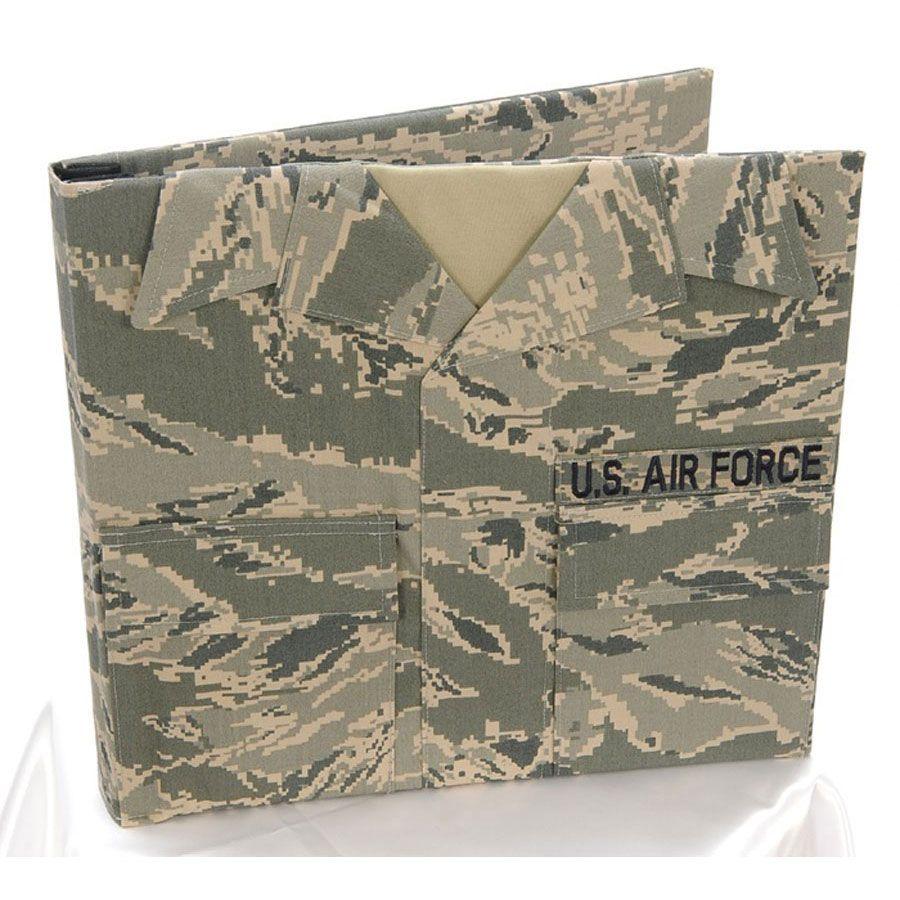 Uniformed U.S. Air Force Uniform Themed Photo Scrapbook