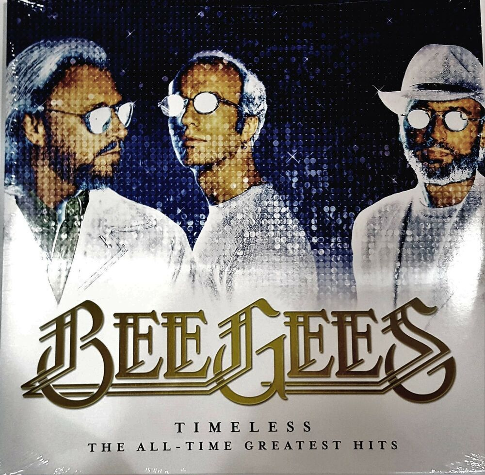 Bee Gees Timeless The All Time Greatest Hits 2017 Double Vinyl 33
