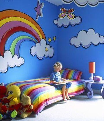 Originales y agraciados dibujos para decorar cuartos | Decoracion de ...