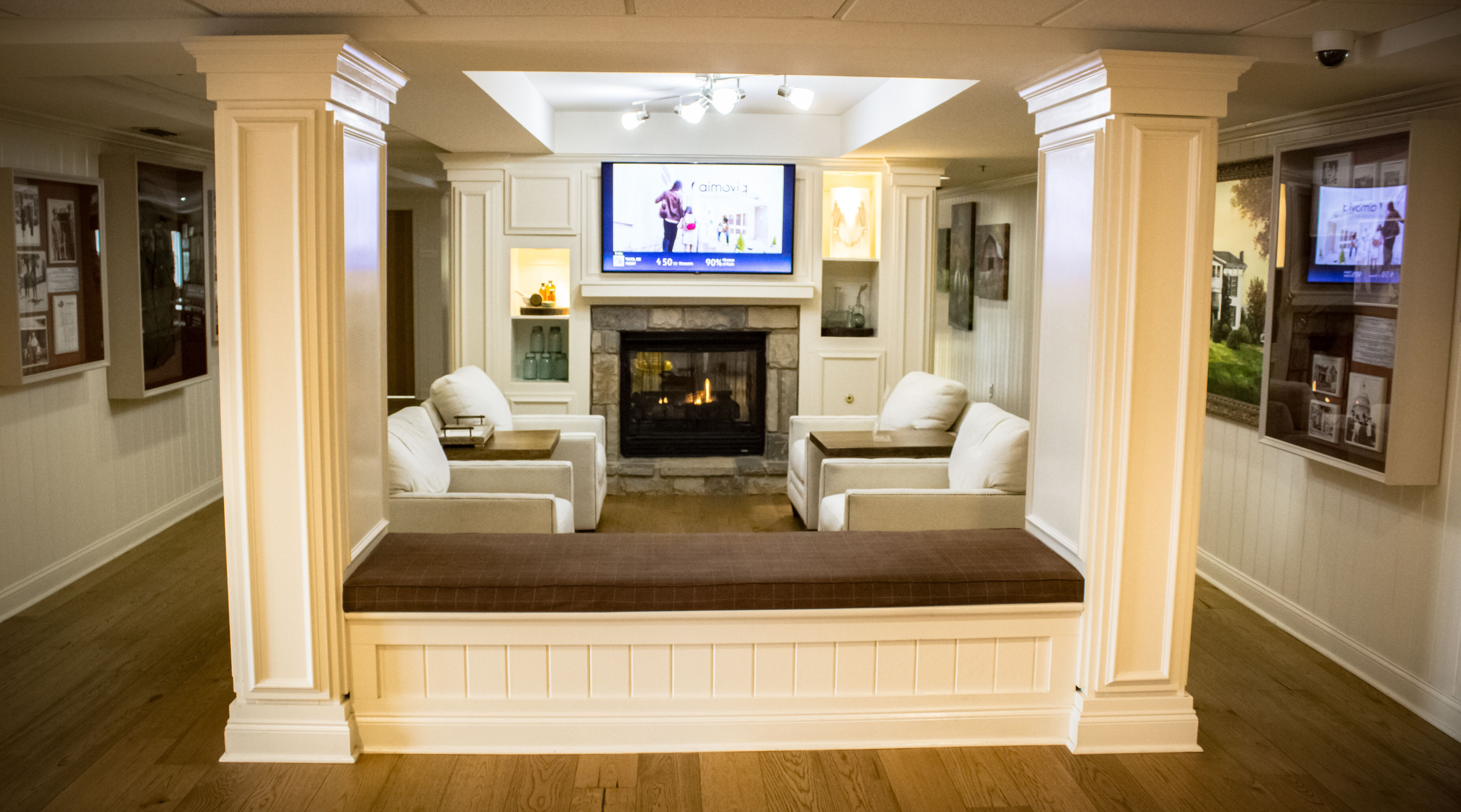 The Cozy Sitting Area In The Lobby Is Great To Relax After A Long