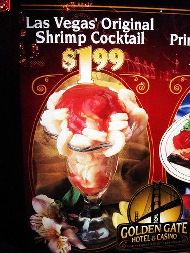 Shrimp Cocktail Golden Gate Casino What Happens In