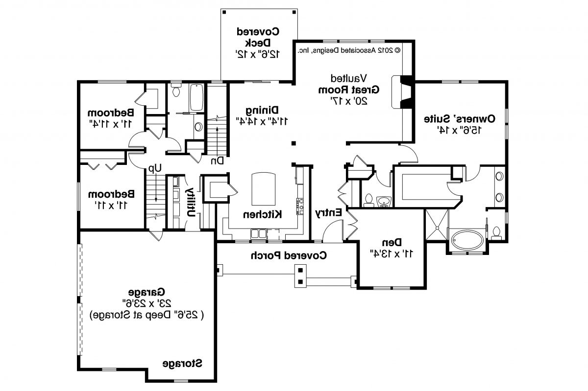 Well Ranch House Open Floor Plans Moreover Brick Interior