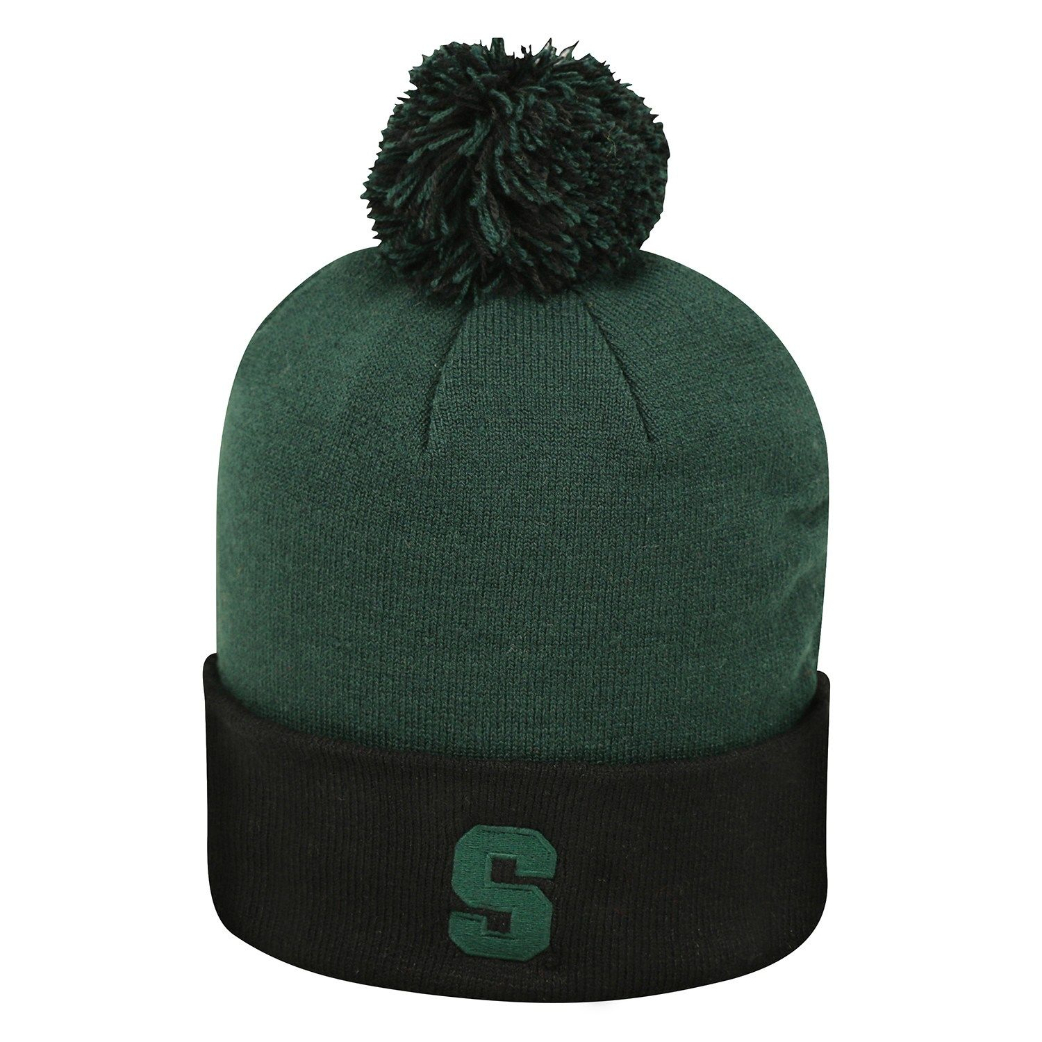 50a6926b62b Adult Top of the World Michigan State Spartans Pom Knit Hat in 2019 ...