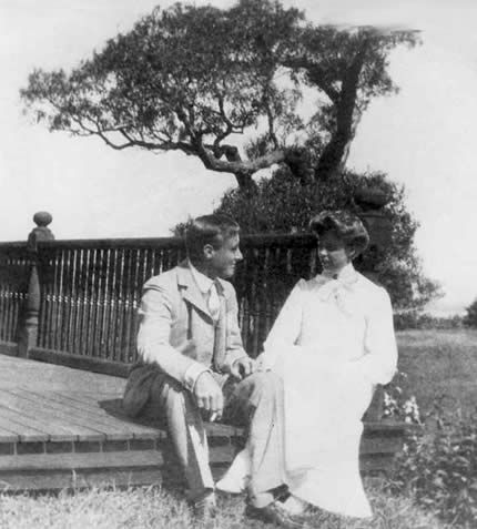 On March Eleanor Roosevelt marries her fifth cousin Franklin D. Roosevelt in New York City. Here's a photo of their courtship, taken on Campobello Island, ...