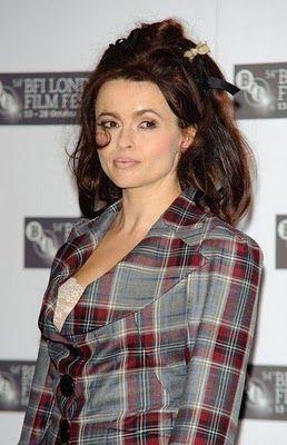 Helena Bonham Carter in Vivienne Westwood.