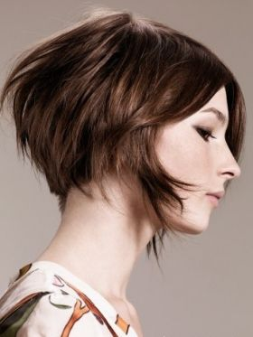 Short Spring Hairstyles: The Inverted Bob