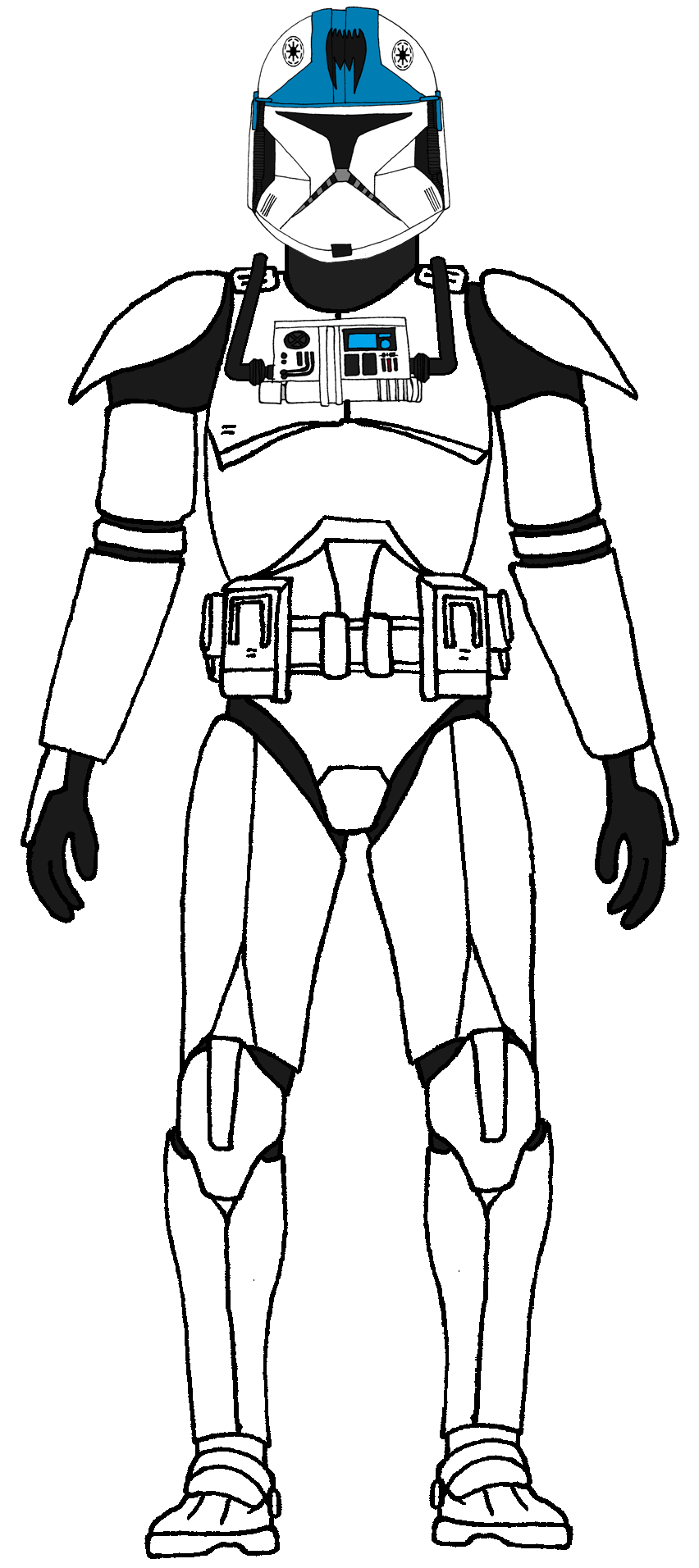 Clone Trooper Pilot Arc Trooper Pilot Star Wars Clone Wars Star Wars Drawings Star Wars Trooper